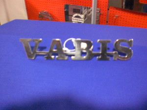 Vabis grill badge