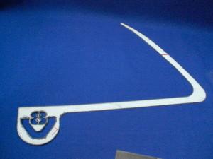 Scania V8 door handle frame